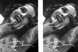 Norma Shearer Two Picture Collage in Black and White