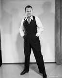 Orson Welles standing Posed in Black and White