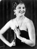 Thelma Todd Posed in Tube Dress