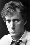James Woods Posed in White With Black Background