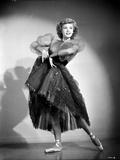 Vera Ellen on a Lace Dress and Dancing Ballet Portrait
