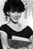 Molly Ringwald Portrait smiling in Black Blouse