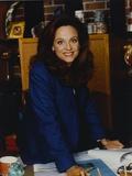 Valerie Harper Posed in Blue Suit