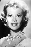 Dinah Shore Portrait in Black and White