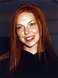 That 70s Show Laura Prepon Portrait in Black Dress