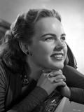 Terry Moore smiling and Looking Away Portrait