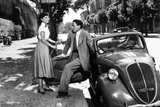Audrey Hepburn and Eddie Albert