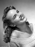 Terry Moore Looking Up and smiling Portrait