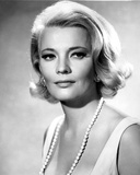 Gena Rowlands Posed in White