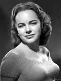 Terry Moore on a Knitted Off Shoulder Portrait