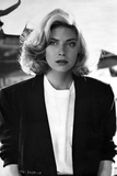 Kelly McGillis in Black Formal Outfit
