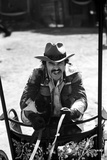 Burt Reynolds at Movie Scene