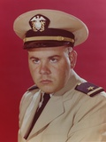 Tim Conway Posed in Pilot Uniform