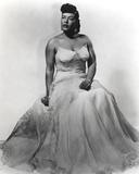 Billie Holiday in Wedding Gown Portrait