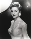 Debra Paget in Gown Black and White Portrait