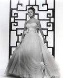 Debra Paget in White Gown Portrait