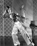 Eleanor Powell Dancing in Glittering Top with Magician's Hat