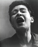 Billie Holiday Screaming Portrait