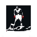 Muhammad Ali Liston Black