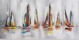 Dream Voyage Armada Peinture réalisée à la main