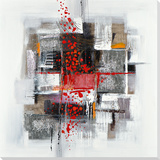 Art Abstrait Peinture réalisée à la main