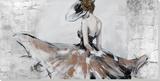 Abigail Peinture réalisée à la main