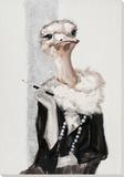 Oh So Elegant Ostrich