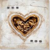 Heart of Hearts I Peinture réalisée à la main