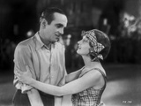 Al Jolson Confronted by the Girl in Stripe Dress and Bandana