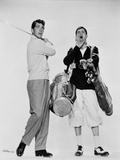 Dean Martin and Jerry Lewis Scene with a Man in Gulf Attire