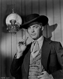 Rory Calhoun in Cowboy Outfit Classic Portrait With Cigarette