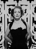 Joan Crawford wearing a Tank top Dress with Necklace in a Classic Portrait