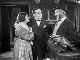 Al Jolson Talking with a Bearded Man on the Place of the Maid