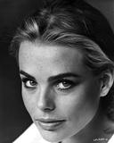 Margaux Hemingway Classic Close Up Portrait with Dark Eye Brows