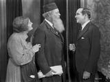 Al Jolson Talking to an Old Couple in a Classic Movie Scene