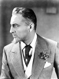 John Barrymore wearing a Suit with a Handkerchief Decoration