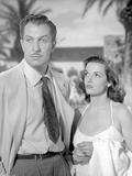 Classic Portrait of the Movie Las Vegas Story in Couple Portrait