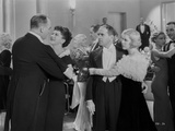 Al Jolson Dancing in the Hall with Other People in a Classic Movie Scene