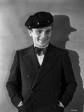 James Cagney Posed in Formal Suit with Cap Classic Portrait