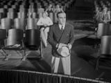 Al Jolson Talking in Front of the Stage in a Classic Movie Scene