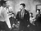 West Side Story Movie Man in Suit Talking to a Man in White Shirt