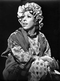 Carol Burnett wearing a Printed Long Sleeve with Knitted Cloth