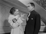 Al Jolson Talking with the Woman in White in a Classic Movie Scene