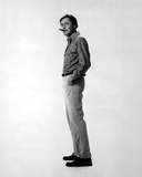 Joseph Bologna standing in Formal Shirt With White Background