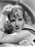 Ann Sothern Looking and Facing at the Camera  wearing a Beaded Bracelet
