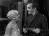 Al Jolson Talking to the Girl in White in a Classic Movie Scene