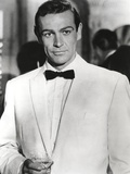 Sean Connery Posed in Tuxedo with Black Bow Tie- Photograph Print