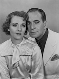 Al Jolson Taking a Picture with a Woman wearing Same Color of Clothes