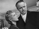 Scene from Citizen Kane with Orson Welles and Dorothy Comingore