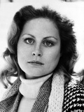 Beverly D'angelo wearing Sweater with Scarf Close Up Portrait